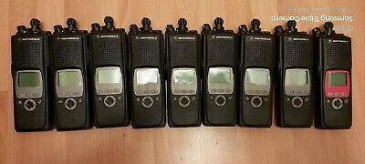 Lot of 9 pcs Motorola XTS5000 Model II VHF P25 Digital Portable Radio