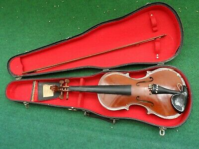 CREMONA LUBY violin 1965 year 100% original light damaged condition