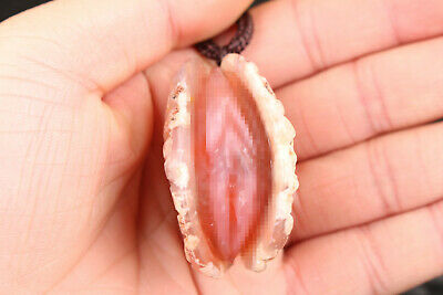 chinese unique valuable natural agate jade hand carved life statue collectable