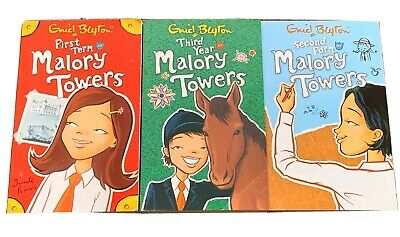 Enid Blyton Malory Towers Set - 3 Books