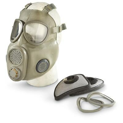 Military Gas Mask Full Face Czech M10 NBC Filter Emergency Survival Respirator