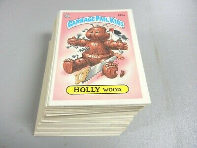 1986 Garbage Pail Kids GPK USA Series 4 Complete 2nt Print corrected  84 cards