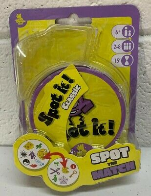 Spot It Classic Family Party Matching Card Game Dobble Brand New Damaged package