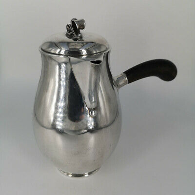 Elegante Mocha Jug from Denmark in Solid Silver 925
