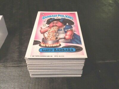 1987 Garbage Pail Kids GPK USA Series 7 Complete Set 88 cards 2nd print correct