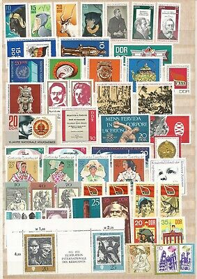 East Germany A Selection of Unmounted Mint Stamps Selection 8