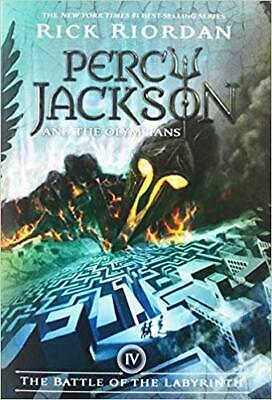 The Battle of the Labyrinth (Percy Jackson and the Olympians,... PAPERBACK 2009