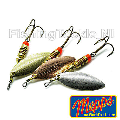 Copper Colours Trout Perch Lure Sizes 00-5 Silver MEPPS Aglia Spinner Gold