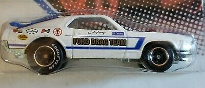 Hot Wheels Vintage Racing Ed Terry's '70 Ford Mustang Mach 1 Real Riders New