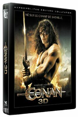 Conan [Combo Blu-Ray 3D + 2D + DVD-Edition Collector boitier SteelBook] // BL...