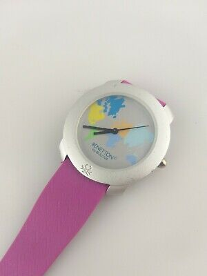 Orologio United Colors Of Benetton By Bulova Donna Quarzo Map Of World