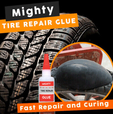 Mighty Tire Repair Glue - BEWARE OF NON HIGH ORIGINAL ONES LOW PRICE U6F6
