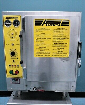 AccuTemp, Countertop Steamer Steam'N'Hold # S208D8-420