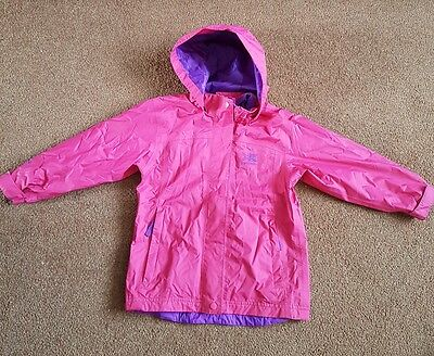 Karrimor pink waterproof jacket age 3-4 years