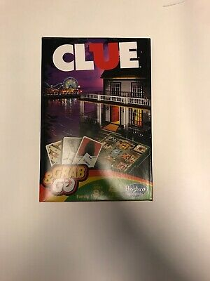 Clue - Hasbro Gaming Grab and Go Travel Size Game Family Board Game