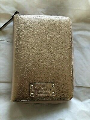 Kate Spade wellesley planner Rose Gold