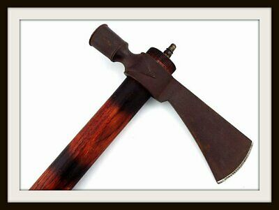 Antique American Indian's Trade Ax Smoking Pipe Tomahawk (Knife~Dagger~Sword)