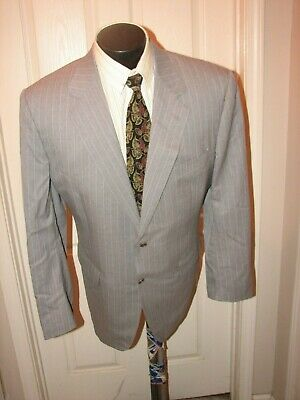 $1399 Canali  Men Grey 2 Butt S/B Suit 46 L Italy  #9