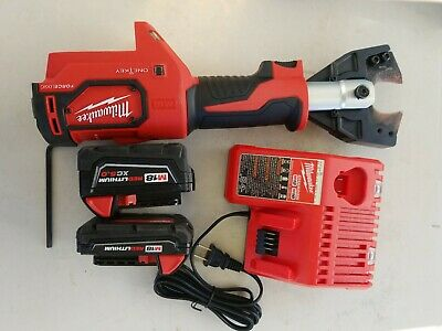 Milwaukee M18 Cable Cutter Cordless Force Logic 750 MCM Jaws 2672-20