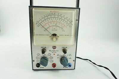 Vintage RCA ~ Voltohmyst ~  WV-77e Volt Meter Test Equipment - USA Made - Works