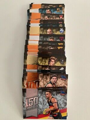 2020 Footy Stars Milestone Game Cards (Choose) I Combine Postage ##More Added##