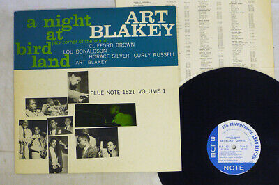 ART BLAKEY QUINTET A NIGHT AT BIRDLAND VOLUME 1 BLUE NOTE GXF 3003 Japan LP