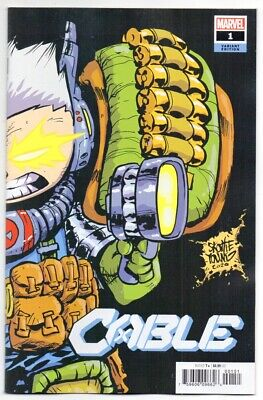 CABLE #1 Marvel comics SKOTTIE YOUNG Variant Cover NM
