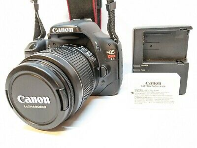 Canon EOS Rebel T2i Digital Camera + 18-55mm IS II Lens Kit - LOW SHUTTER COUNT