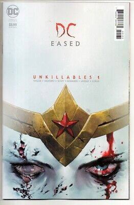 DCEASED UNKILLABLES #1 CARD STOCK HORROR PUTRI VARIANT Cover NM