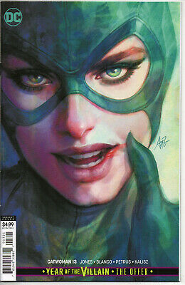 CATWOMAN #13 CARD STOCK YOTV THE OFFER ARTGERM Variant Cover NM