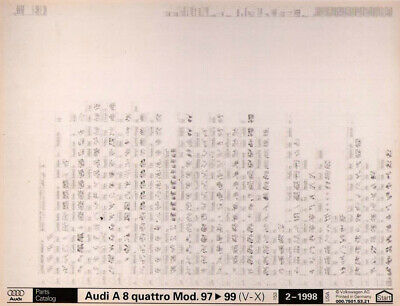 Jumbo Size Car Parts Microfiche Scanning Service to Digital Image