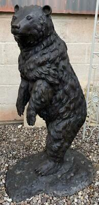 Large Bronze Sculpture - Standing Bear - Indoor or Outdoor - 113cm High