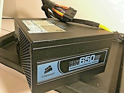 Corsair HX650 ATX 650W Modular Professional Series Power Supply Unit