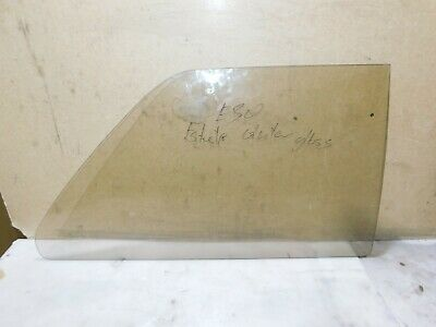 BMW 3 SERIES E21 2 DOOR REAR RIGHT DRIVER SIDE GLASS WINDOW GREEN OPENED