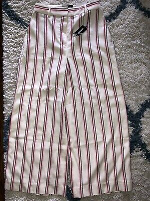 Express Cropped Culottes Size 0 NWT