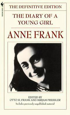 The Diary of a Young Girl by Otto H. Frank and Ana Frank (1997, Paperback)