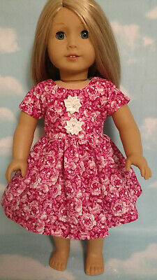 """18"""" Doll Dress fits 18 inch American Girl Doll Clothes 55ab"""