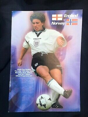 ENGLAND WOMAN v NORWAY WOMAN 1998 WCQ @ OLDHAM
