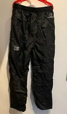 Kids Weatherite By Karrimor Black Water Resistance Trousers Age 5 To 6 Years