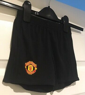 Adidas Man United Fc Football Shorts Size 2-3 Years Brand New With Tags