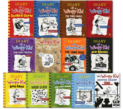 Diary Of A Wimpy Kid Collection 🔥 14 Books 🔥 Set By Jeff Kinney P.D.F🔥
