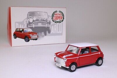 Corgi 80455; BL/Rover Mini Cooper 1990, John Cooper; Red/White Excellent Boxed