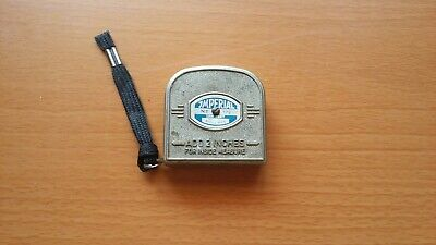 Vintage Imperial Mollimex Tape Measure, Made in Germany