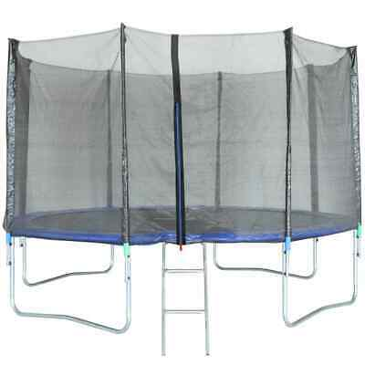 TRIGANO Trampoline with Safety Net 366cm Outdoor Playset Enclosure J-JOU078#
