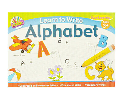 Learn to Write Alphabet Dot - dot handwriting practice Educational activity book