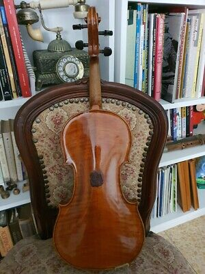 Old Probably Italian Labeled 44 Violin