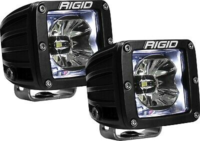 Rigid Industries 20200 Radiance Pod White Backlight Surface Mount - Sold in Pair