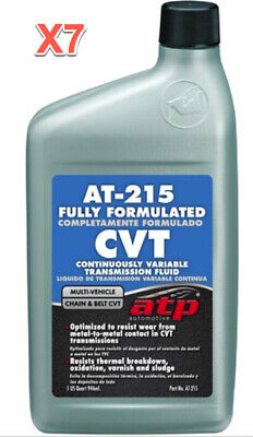 7 Quart Continuously Variable Transmission Fluid (CVT) ATP Multi Vehicle
