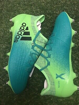 Adidas Ace 16.1 SG UK-8 Football Boots Green/Green Brand New With Tags