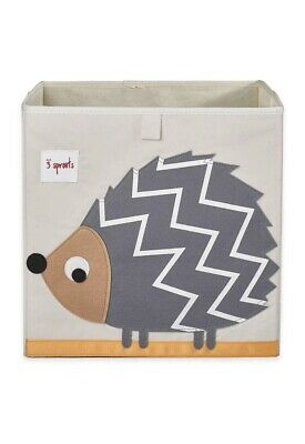 3 Sprouts Childrens/Toddler Hedgehog Storage Box